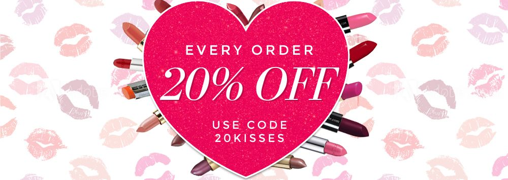 20% Off All Orders! Use Code 20kisses