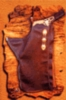 Batwing Chaps with Conchos Size Small