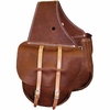 "Horse Saddlebags ""Leather Saddle Pockets"""
