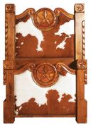 "Western Bedroom Furniture ""Texas Star Bed"""