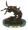 Wicked Pony Bronze Sculpture