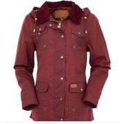 Womens Oilskin Jacket - Jill A Roo - Click to enlarge