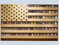 Flag Coin Display