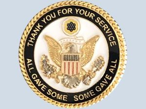 Thanks for Serving Pin