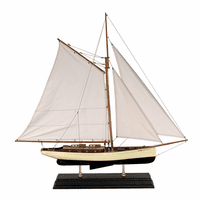 1930s Classic Yacht Model - Large
