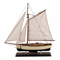 1930s Classic Yacht Model - Small