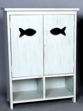 2 Door Fish Cabinet - OUT OF STOCK