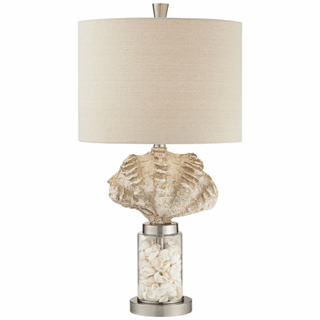 A Day at the Beach Table Lamp