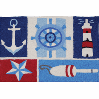 A Sailor's Day Indoor/Outdoor Rug