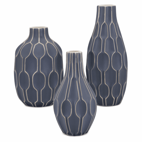 Abigail Vases - Set of 3