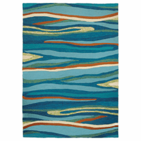 Abstract Bay Indoor/Outdoor Rug Collection