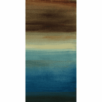 Abstract Horizon III - B Canvas Print