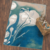 Abstract Jellyfish Rug Collection