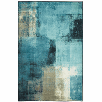 Abstract Oceanscape Rug Collection