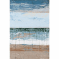 Abstract Tides II Canvas Art