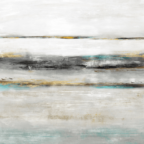 Abstract Tides IV Canvas Art