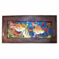 Acuario Frame Metal Wall Art