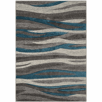 Adrift Gray Rug Collection