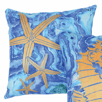 Agate Starfish Pillow