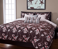 Ahoy Sand Duvet Set - Queen