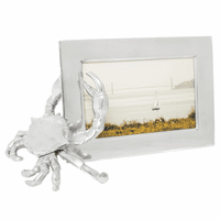 Aluminum Crab 4 x 6 Photo Frame