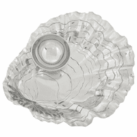 Aluminum Oyster with Pearl Chip and Dip Set