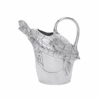 Aluminum Sea Turtle Pitcher