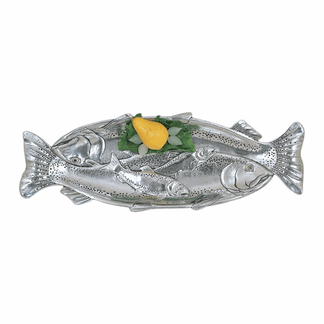 Aluminum Trout Oblong Tray