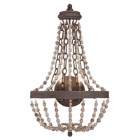 Alyssa 2-Light Beaded Sconce