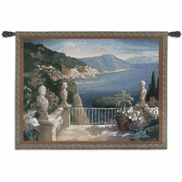Amalfi Holiday Wall Tapestry
