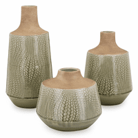Amazon Vases - Set of 3