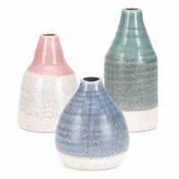 Amelia Pastel Vases - Set of 3