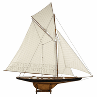America's Cup Columbia 1901 Model Sailboat - Large