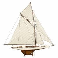 America's Cup Columbia 1901 Model Sailboat - Medium
