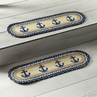 Anchor Braided Jute Stair Tread