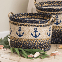 Anchor Braided Utility Basket - Medium