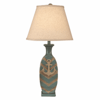 Anchor Chevron Table Lamp