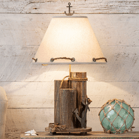 Anchor Dock Pilings Table Lamp