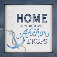 Anchor Drops Framed Art
