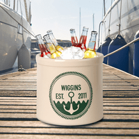 Anchor Personalized Established Crock - Green