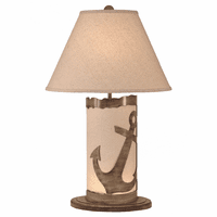 Anchor Table Lamp with Nightlight