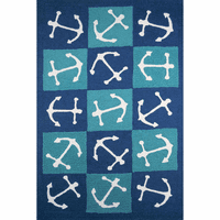 Anchor Tiles Indoor/Outdoor Rug - 3 x 5