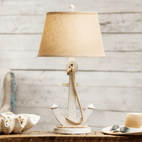 Anchored at Sea Table Lamp