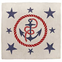 Anchors Away Accent Rug