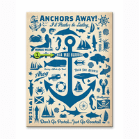 Anchors Away Personalized Signs