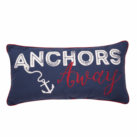 Anchors Pillow - OUT OF STOCK