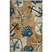 Anchors & Shells Rug Collection