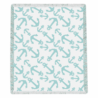 Aqua Anchors Throw