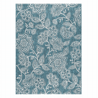 Aqua Garden Indoor/Outdoor Rug Collection