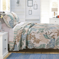 Aqua Reef Quilt Bedding Collection
